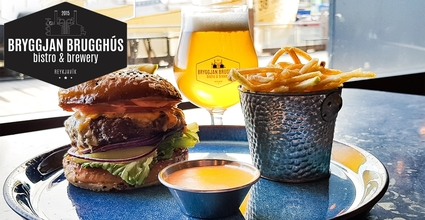 Burger & beer 2.590 isk