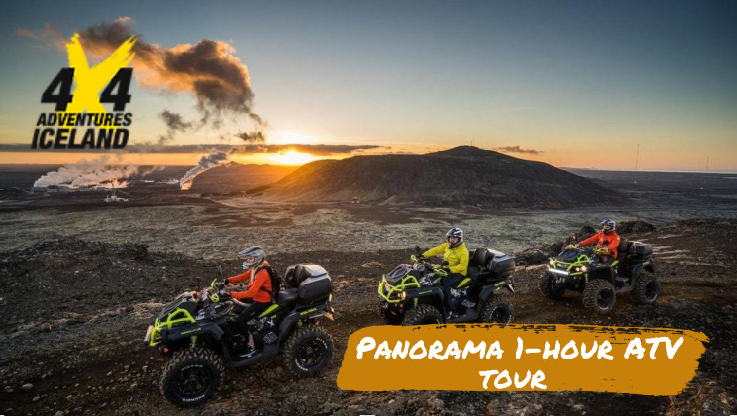 Panorama 1-hour ATV tour