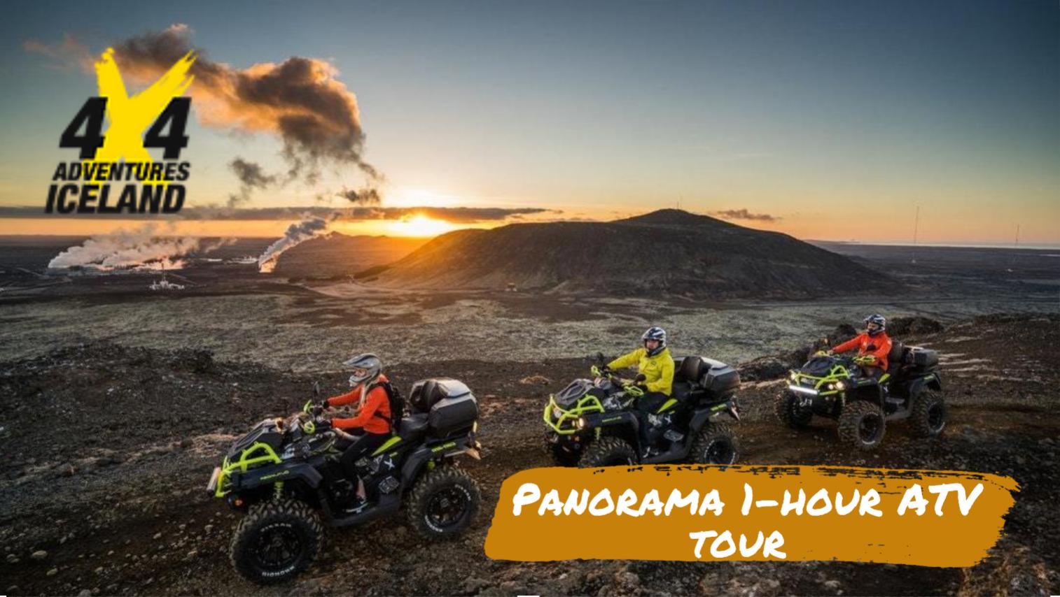 Panorama 1-hour ATV tour